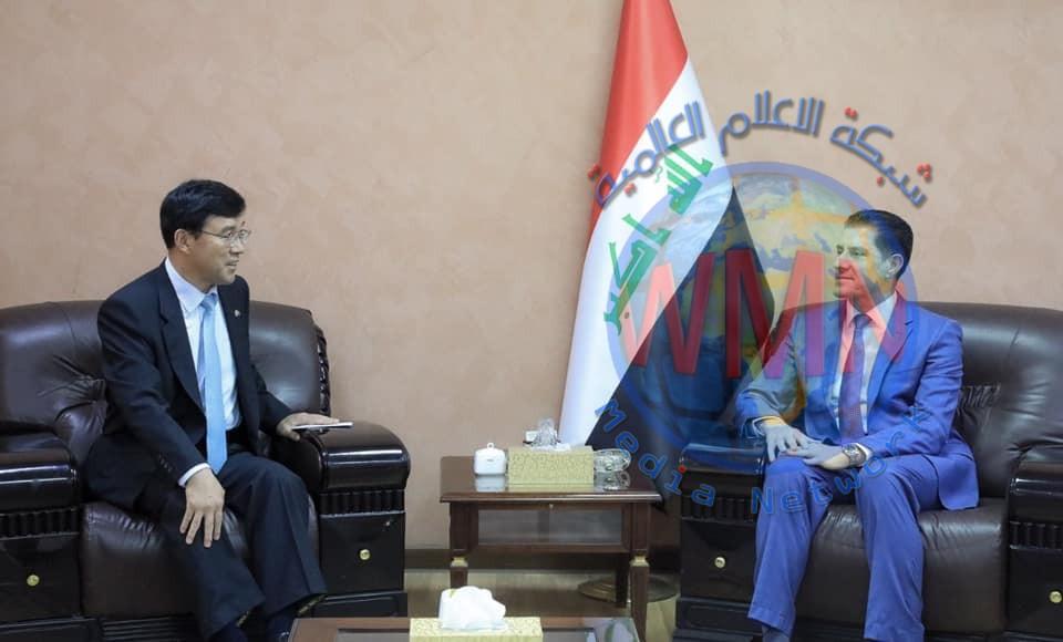 وزير التخطيط يبحث مع سفير كوريا الجنوبية سبل تعزيز العلاقات الثنائية بين البلدين