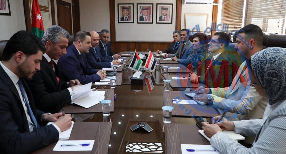 وزير التخطيط يبحث مع نظيره الأردني سبل تعزيز العلاقات المشتركة بين البلدين