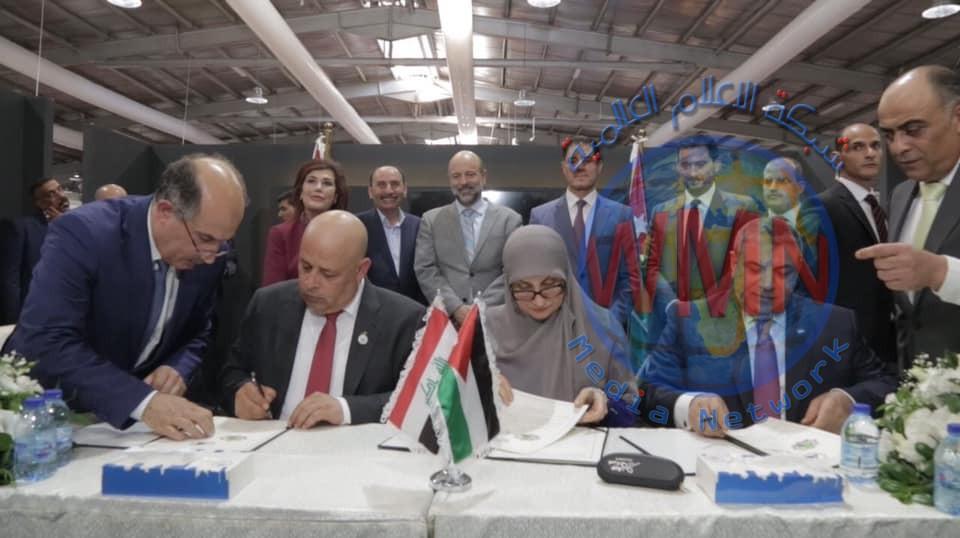 العراق والأردن يوقعان مذكرة للتعاون المشترك في مجال تنفيذ المشاريع وإعادة الاعمار وتأهيل البنى التحتية