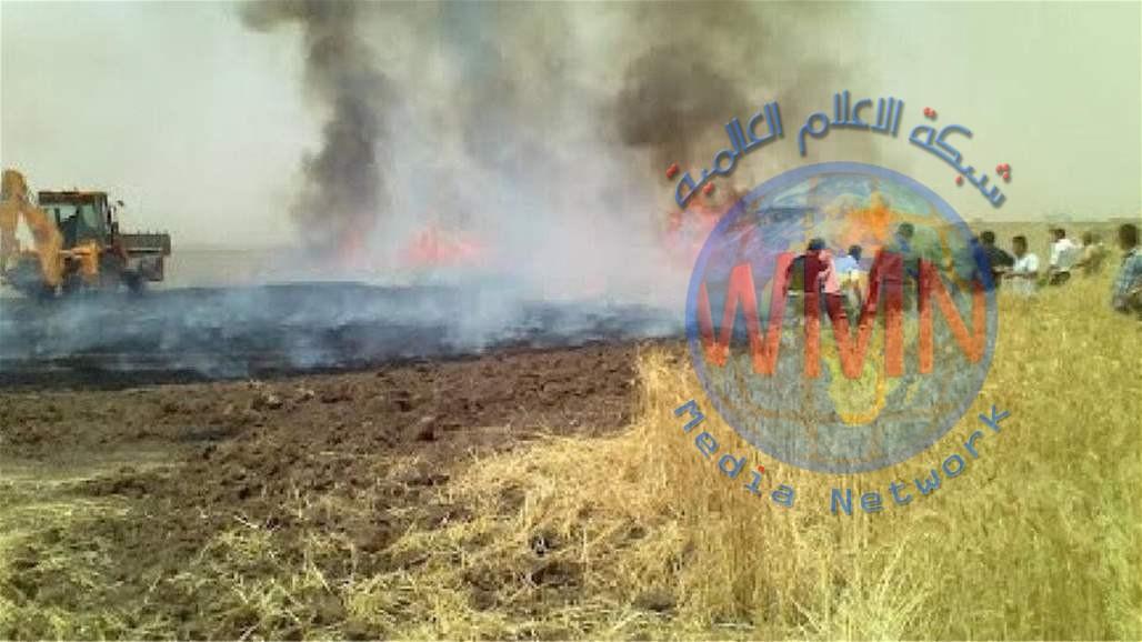 الدفاع المدني: اغلب حرائق الحوادث العمدية كانت نتيجة نزاعات على عائدية الارض