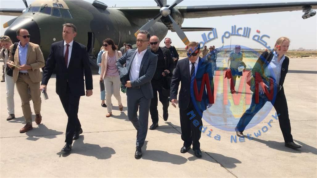 وزير الخارجية الالماني يصل بغداد