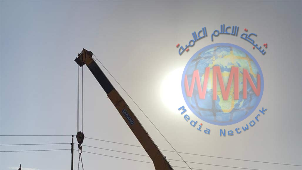 رفع الكتل الكونكريتية من محيط شارع المصافي جنوب بغداد