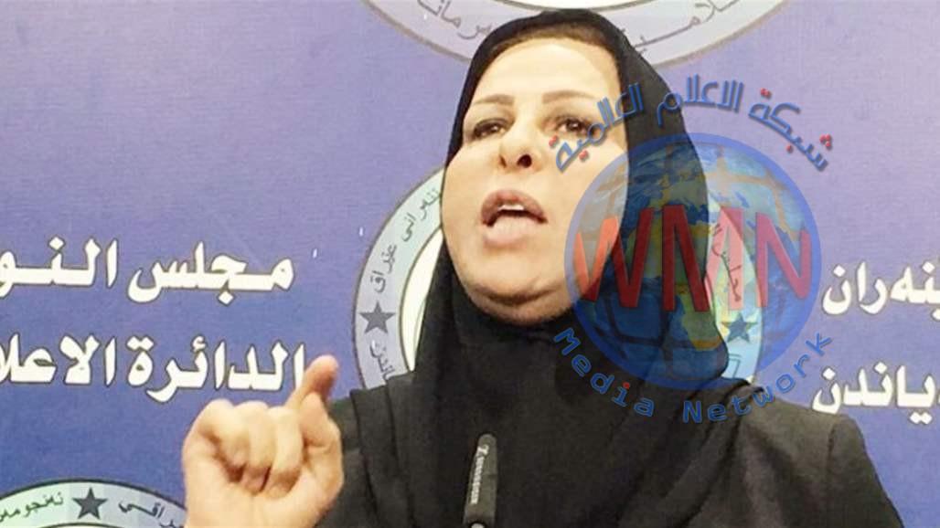 """عالية نصيف تحذر من تمرير مشروع قانون بصيغة """"ملغمة"""" تساوي الأجانب بالعراقيين"""