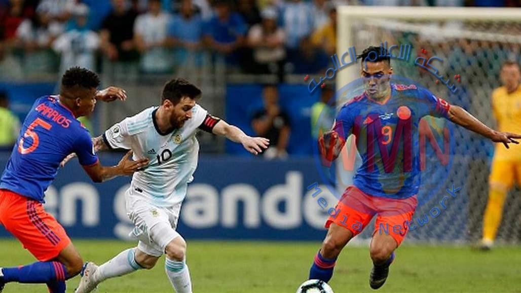 كولومبيا تُحرج الأرجنتين بحضور ميسي