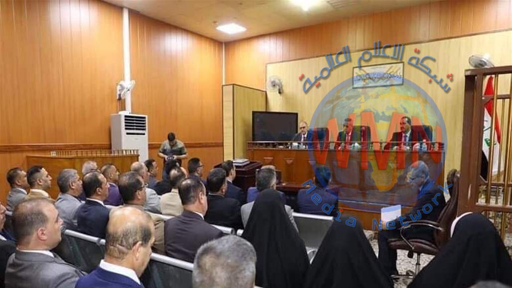 رئيس مجلس القضاء يبحث مع مدير شرطة النجف القضاء على جرائم المخدرات