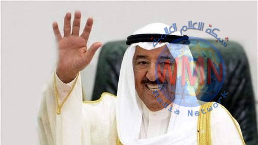 أمير الكويت يزور بغداد الأربعاء المقبل