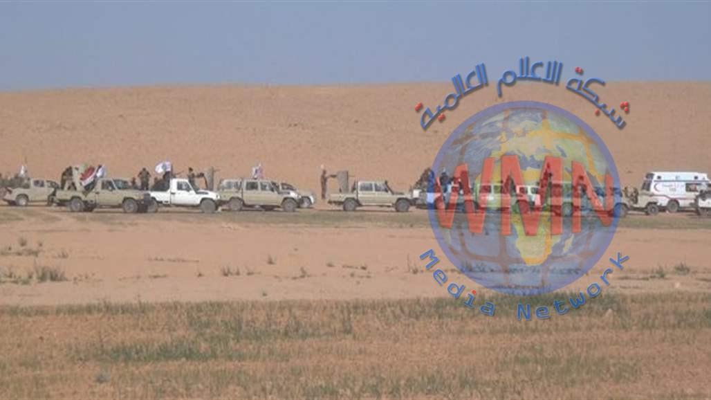 الحشد الشعبي يعلن تنفيذ عملية لتأمين 120كم من الحدود مع سوريا