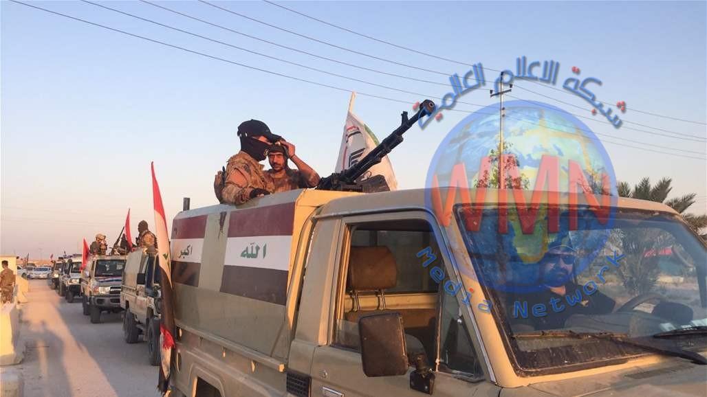 """الحشد الشعبي يعلن عن انطلاق عملية عسكرية واسعة في مناطق تشهد تحركات لـ""""الإرهابيين"""" غرب الأنبار"""