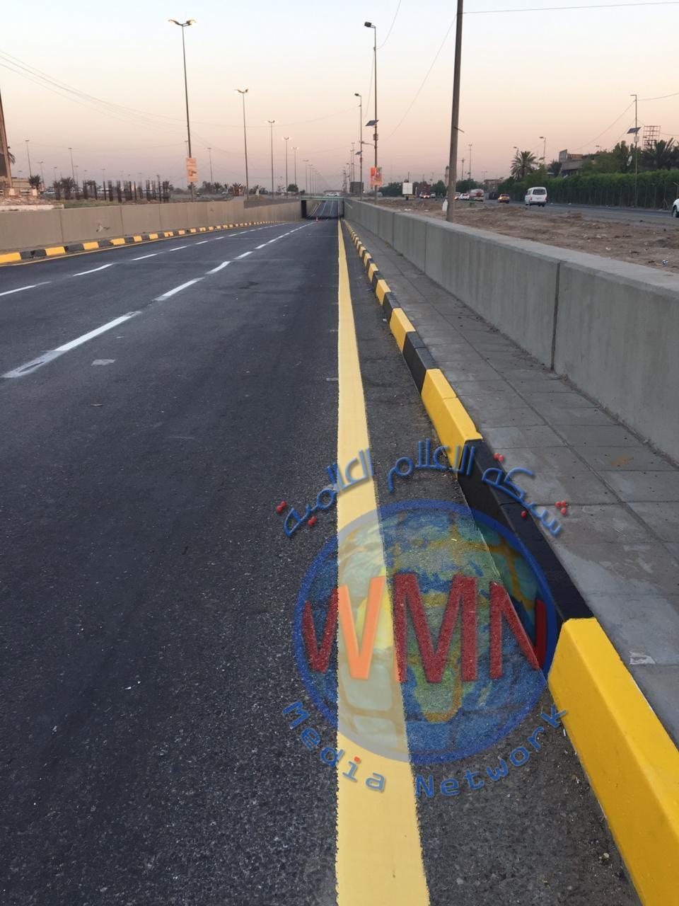 امانة بغداد : افتتاح نفق المظفر رسمياً غدا الاحد