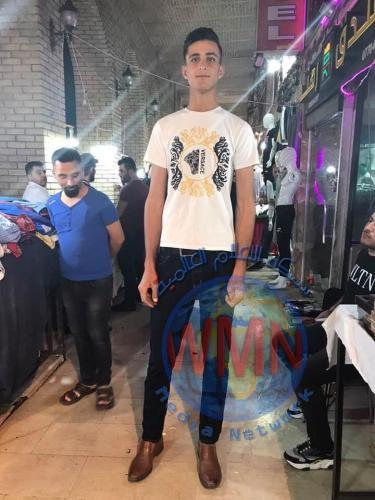 اطول رجل بالعراق يبلغ طوله 215 سم(صور)