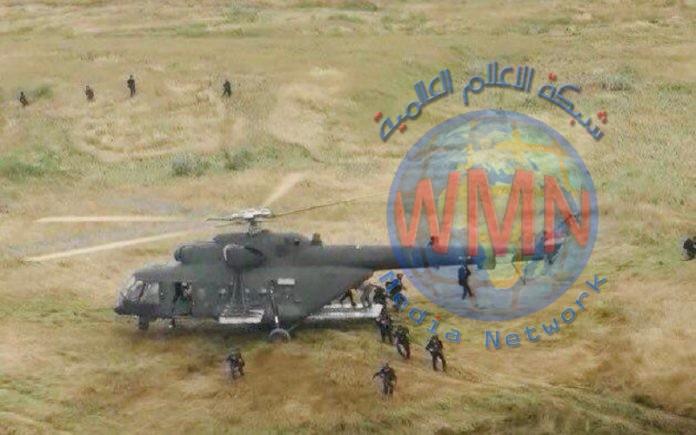 """انزال جوي يقتل 4 """"دواعش"""" في صحراء الانبار"""