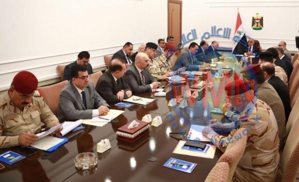 مجلس الأمن الوطني يبحث اوضاع كركوك ويقرر تخفيض اعداد السجناء في نينوى