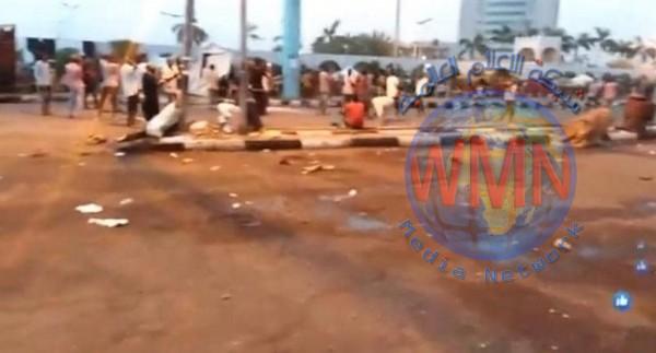 السودان.. قتلى وجرحى في فض إعتصام الخرطوم