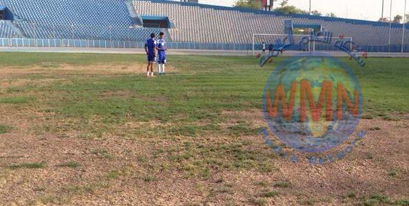 وزارة الشباب والرياضة تنظيم مباريات بطولة الكأس أسهم في زيادة الضرر على أرضية ملعب الشعب