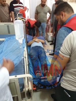 وفد وزاري يتعرض لحادث سير في المثنى ووقوع إصابات