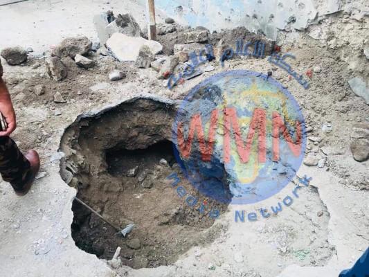 الاستخبارات العسكرية تضبط احزمة ناسفة داخل مخبأ في الموصل