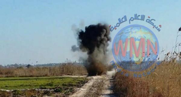 عمليات بغداد تنوه الى تفجير مسيطر عليه