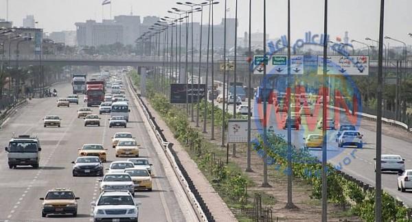 أمانة بغداد تنفي قطع سريع محمد القاسم قرب وزارة الداخلية