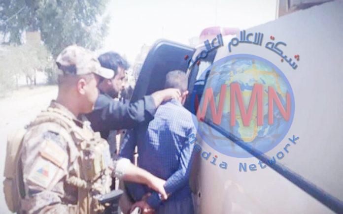 اعتقال 4 متهمين وارهابي يسلم نفسه طواعية في ديالى