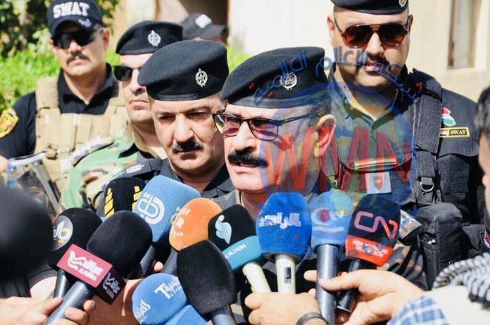 """شرطة ديالى تعلن تنفيذ """"الحلقة الشاملة"""" لمنع تسرب المستلزمات العسكرية للإرهابيين"""