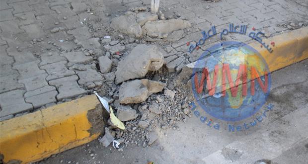 اصابةثلاثة مدنيين وضابط بتفجير شمال شرق ديالى