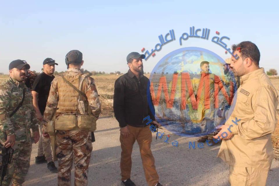 قوة من اللواء 8 بالحشد تعثر على أسلحة وأعتدة وتدمر مضافتين للإرهابيين في الطارمية