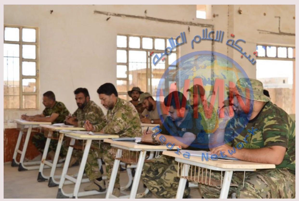 اللواء 33 ينهي دورة قراءة الخريطة في قاطع المسؤولية غرب نينوى