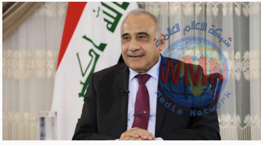 عادل عبد المهدي: الحشد الشعبي صنف من صنوف القوات المسلحة ولا يوجد دمج له