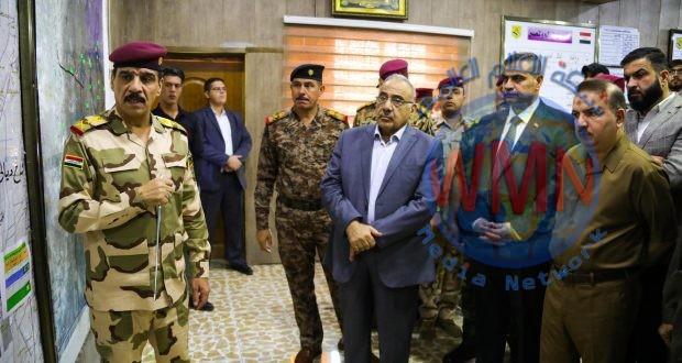رئيس الوزراء يشيد بالتنسيق العالي بين القطعات الأمنية المشاركة في عمليات إرادة النصر الثانية شمالي بغداد