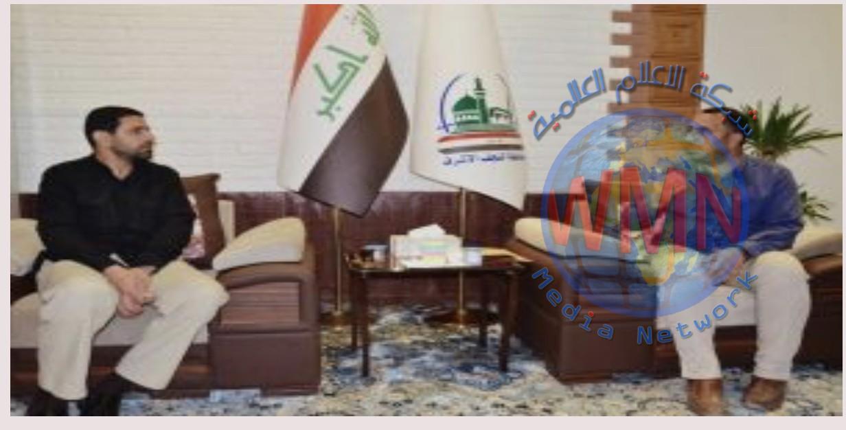 الحشد في النجف ينسق مع ادارة المحافظة لتوزيع قطع اراض بين عوائل الشهداء