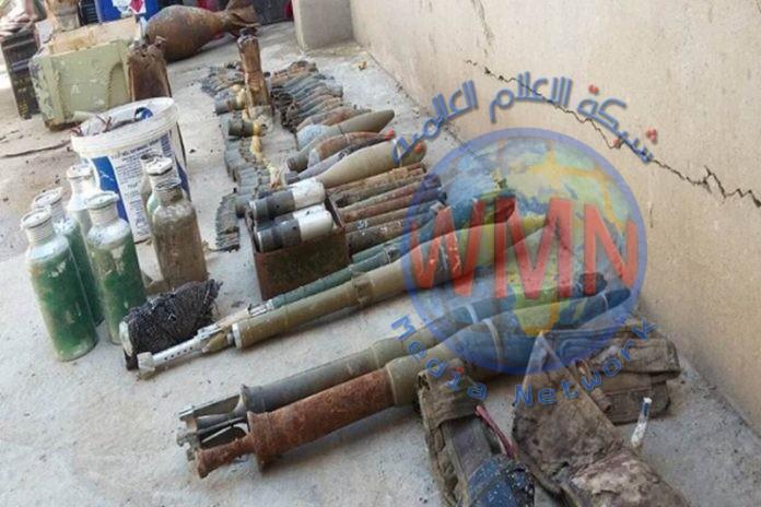 """ضبط وكر ونفق لـ""""داعش"""" يضمان صواريخ وعتاد في كركوك"""