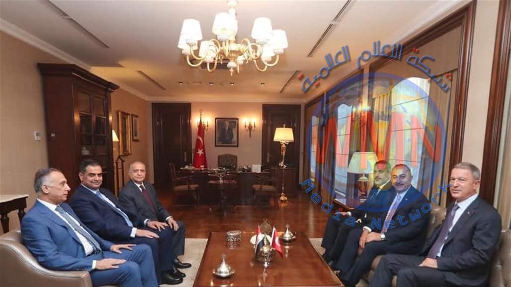 اجتماع امني عراقي تركي لبحث التعاون الامني ومكافحة الارهاب