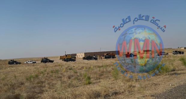 اللواء 33 بالحشد يقتل ويصيب عددا من الدواعش عقب محاصرتهم في احدى المضافات في صحراء الجزيرة