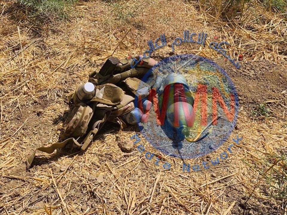 مكافحة المتفجرات في اللواء ١٤ بالحشد تفكك ست عبوات شمالي بغداد