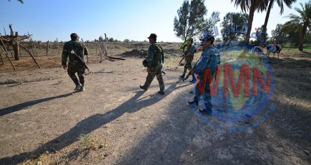 قوة من اللواء 12 والجيش يشرعان بتطهير ناحية المشاهدة وصولا الى شارع الكسارات شمالي بغداد
