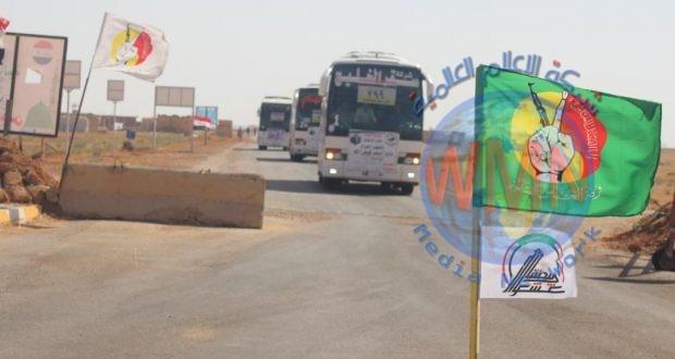 الحشد الشعبي يؤمن تفويج أكثر من 1000 حاج عبر منفذ عرعر