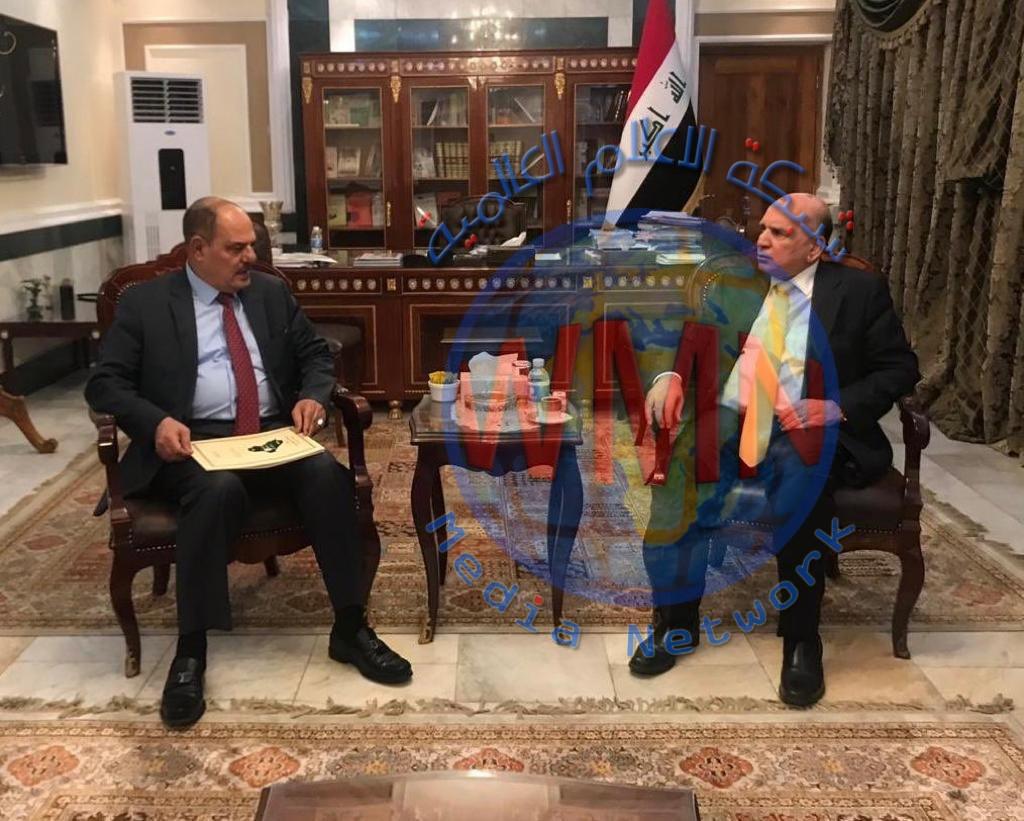 مؤيداللامي يبحث مع وزير الاتصالات سبل دعم المؤسسات الإعلامية