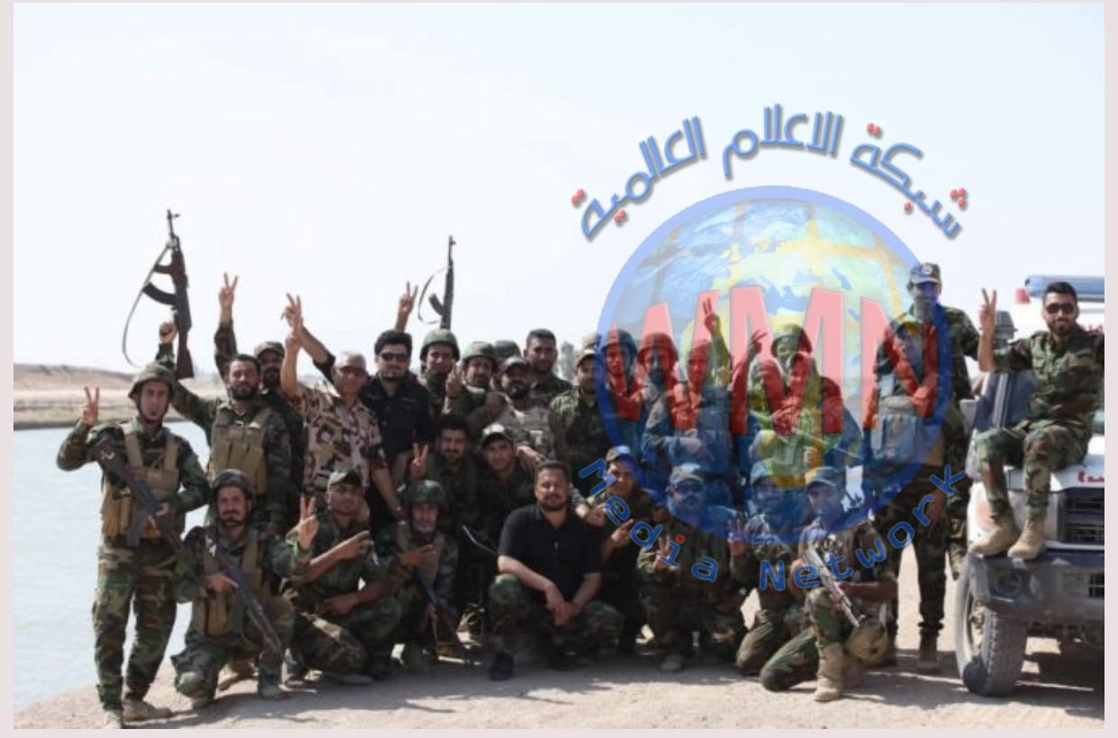 اللواء 7 بالحشد ينجز مهامه ضمن عمليات إرادة النصر الثانية شرقي الانبار