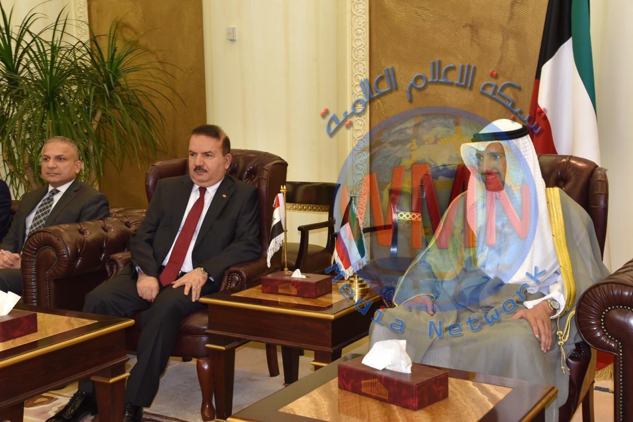 وزير الداخلية يزور مجلس الأمة الكويتي لبحث عدد من المواضيع ذات الاهتمام المشترك