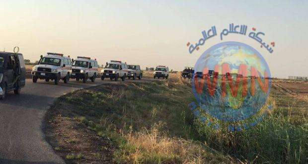 طبابة الحشد تواكب تقدم القطعات العسكرية في محاور عمليات إرادة النصر الثانية