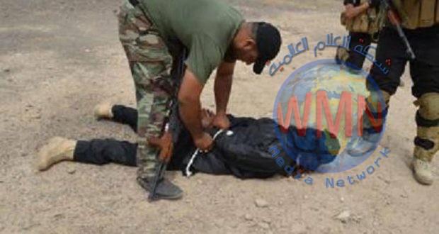 الحشد يعتقل عنصرين من داعش خلال عمليات تفتيش ضمن إرادة النصر