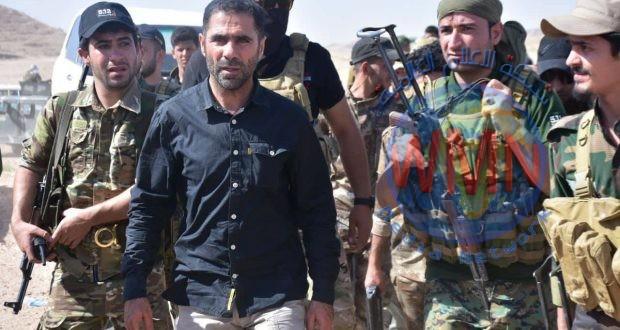 قائد عمليات ديالى للحشد يعلن تطهير المناطق المحيطة بنهر الوند في خانقين