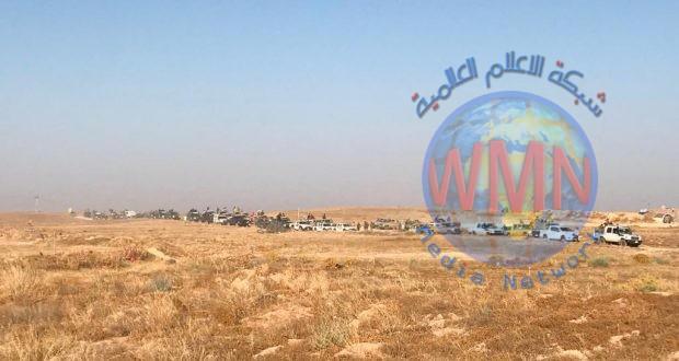 الحشدالشعبي والقوات الأمنية ينفذان عملية أمنية شمال شرقي ديالى