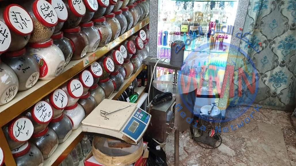 إغلاق اربع محال لبيع المنحفات المحظورة في الكاظمية شمالي بغداد