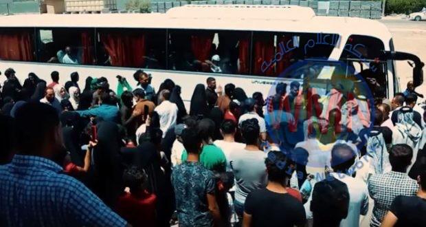 تفويج وجبة الحجاج الثالثة من ذوي شهداء وجرحى الحشد في البصرة