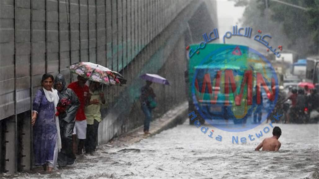 أمطار غزيرة تودي بحياة 18 شخصاً في الهند