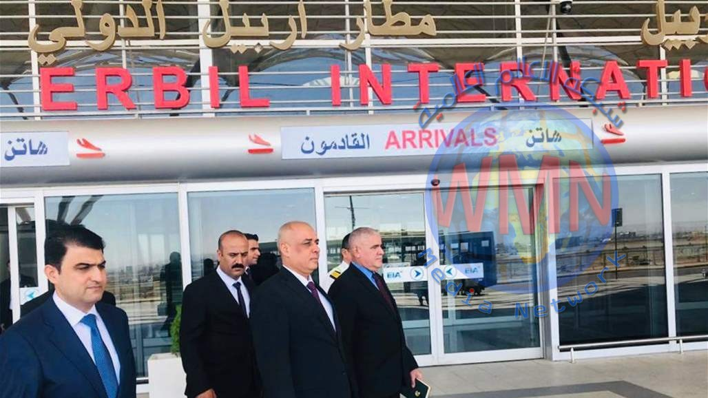 وزير النقل من مطار اربيل: استكمال كافة الاستعدادات لتفويج الحجاج للموسم الحالي