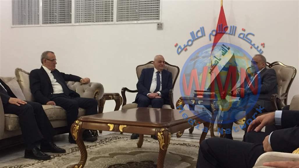 وزير الصحة اللبناني يلتقي عبد المهدي