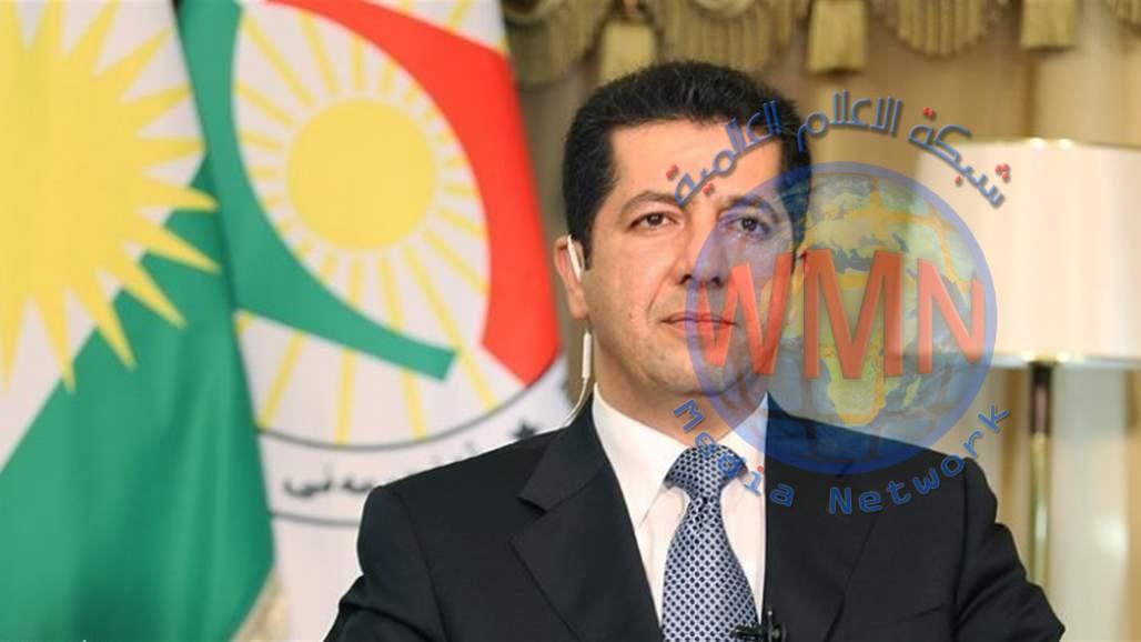 البارزاني يصل إلى بغداد على رأس وفد رفيع المستوى
