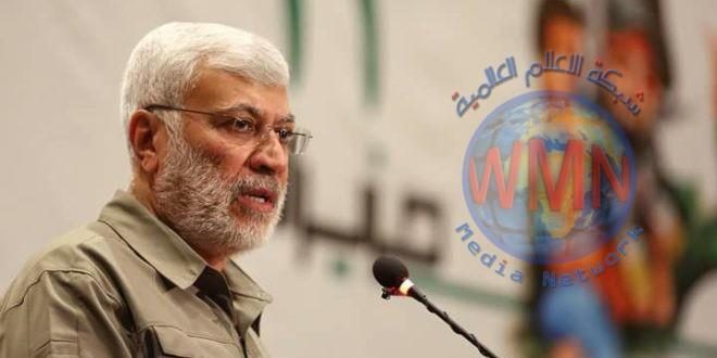 ابومهدي المهندس يشيد بجهود معاونية الدعم اللوجستي في إنشاء معسكرات أُنموذجية